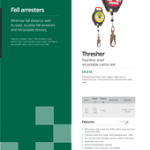 Fall Arresters Brochure PPE Catalogues