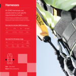 Harnesses Brochure PPE Catalogues