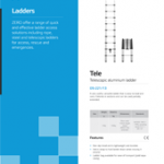 Ladders Brochure PPE Catalogues