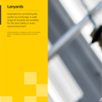 Lanyards Brochure PPE Catalogues