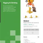 Rigging & Climbing Brochure PPE Catalogues